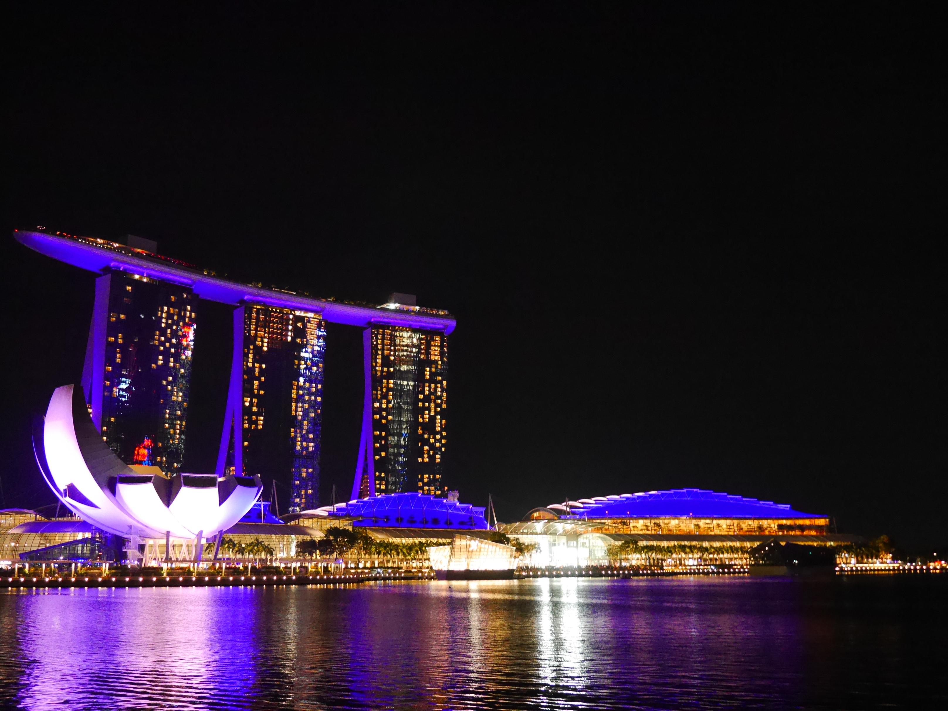 シンガポールのマリーナベイ